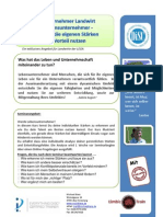 Infoflyer LEGA DISC Seminar