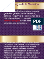 Salvacion genetica 1