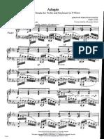 Bach / Siloti - Adagio in F Minor