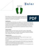 Manual Instalacion Huellas y Decoracion