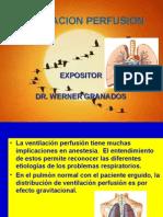 Ventilacion Perfusion y Anestesia