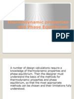 1a Thermodynamic Properties and Phase Equilibrium