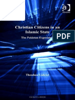 Christian Citizens in Islamic State .the Pakistan Experience