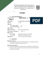 Silabo Estructuras i - 2005 - II