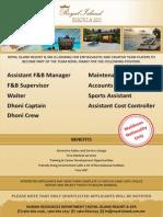 Job Oppertunities ADD 18 March 2015