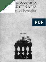 BASAGLIA Franco - La Mayoria Marginada - 1971
