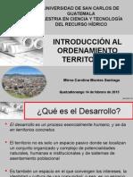 Introducción Al Ordenamiento Territorial