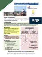Jardine Foundation and UI Scheme Presentation Flyer