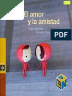 El Amor y La Amistad. Oscar Brenifier, Jacques Desprès.