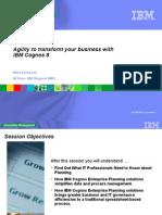 Enterprise Planning With IBM Cognos MA v2