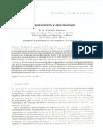 Termodinámica y Epistemología