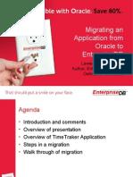 EnterpriseDB Migration Webinar