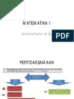 Matematika 1 Geologi Uts