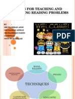 Techiques for Teaching and Remediating Reading Problems (2)