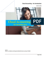 Cloud Accounting - An Introduction