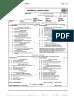 Aramark 1-25-10 Inspection Report
