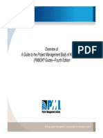 Overview PMBOK Guide4thedition