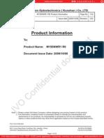 Data Sheet IVO M156NWR1-R0