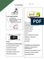 Ludaxx Ingredients List