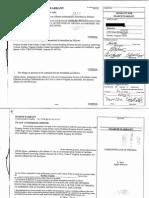 Rosen - Virginia search warrant and affadavit