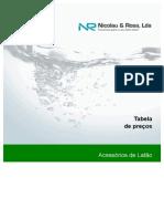 NICOLAU & ROSA - Acessorios Latao - Tabela de Precos (PT)