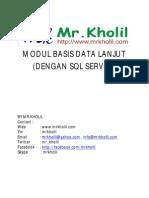 Modul Praktikum Basis Data Lanjut