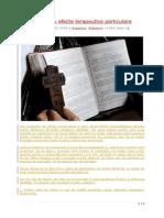 Zece Psalmi Cu Efecte Terapeutice Particulare