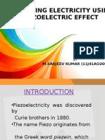 piezo electric effect