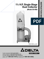 Delta Dust Collector 50-850