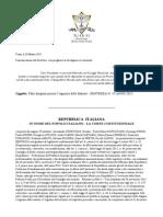 Sentenza Falsi Dirigenti- Corte Costituzionale n°37 - 2015