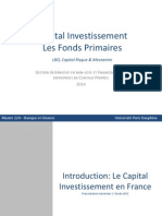 Cours 2. Private Equity 2014