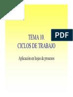 10. Ciclos Trabajo