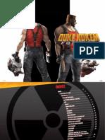 Manual Duke Nukem Forever PC Español
