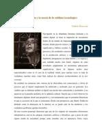 Umberto Roncorini_benjamin y La Teoría de Lo Sublime Tecnológico