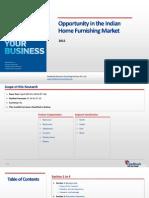Home Furnishing Market in India_Feedback OTS_2015
