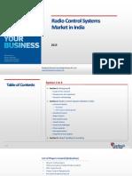 Radio Control Systems Market in India_Feedback OTS_2015
