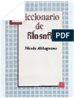 Abbagnano, N. - Diccionario de Filosofía (2a Ed)