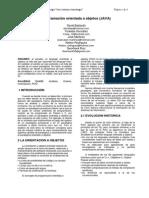 Paper Programacion Orientada a Los Objetos