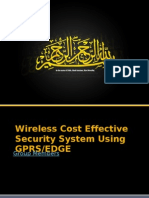 Wireless Cost Effective Security System Using GPRS Final