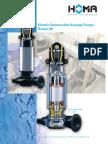 Electric Submersible Sewage Pumps