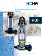 Electric Submersible Sewage Pumps