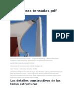 Estructuras Tensadas PDF