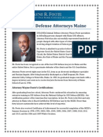 Criminal Defense Attorneys Maine