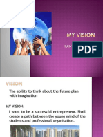 My Vision Ppt