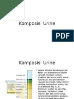 Komposisi Urine