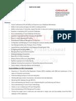 Naresh Database Administrator