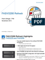 FAS3200 E-Series Update