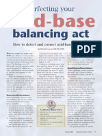 Acid base balancing act
