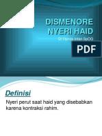 DISMENORE