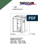 Air Dryer Manual